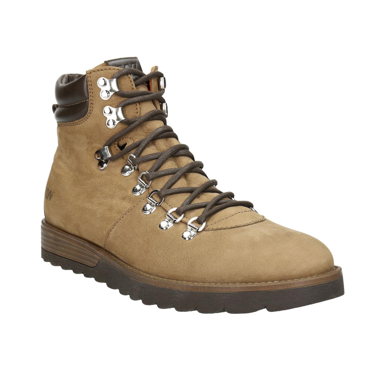 Kožená pánská zimní obuv