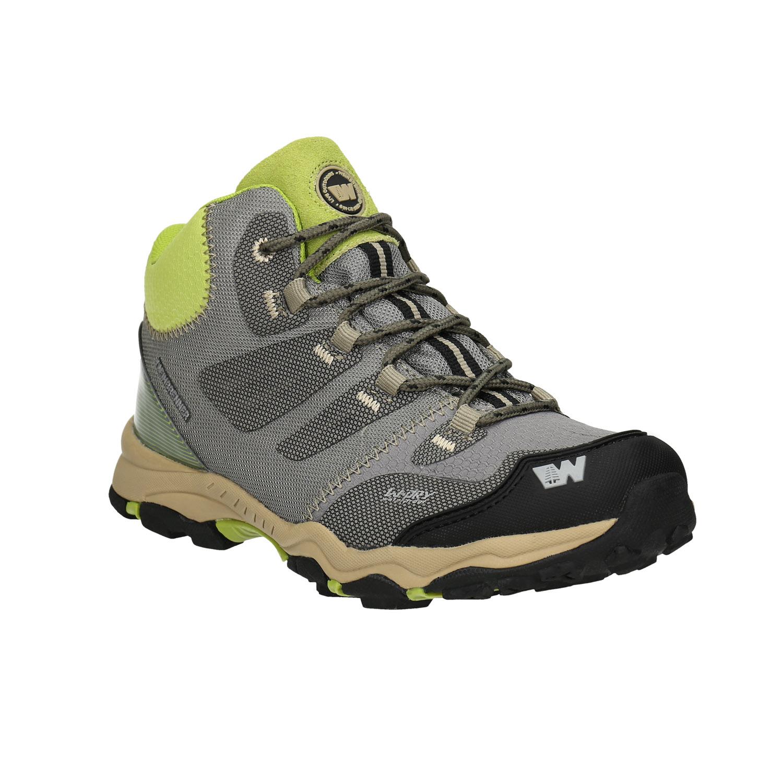 Szare buty dziecięce wstylu outdoor - 4192613