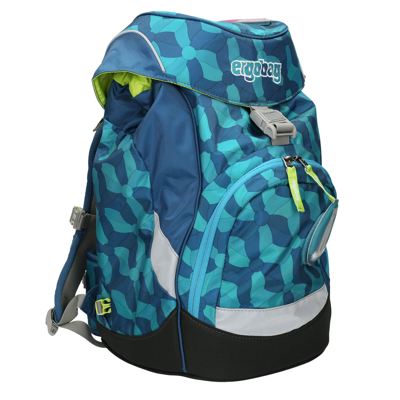 Modrý školní batoh