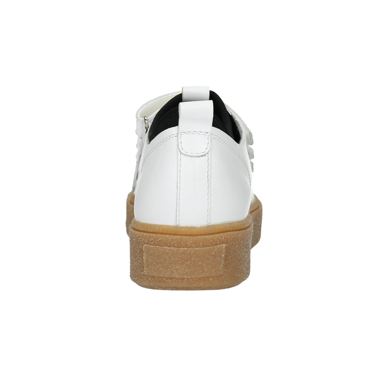 Kožené dámské tenisky na suché zipy - Akční cena  2407f12e6f