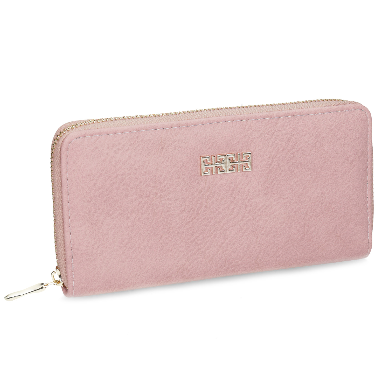 růžová dámská peněženka
