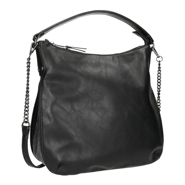 Dámska čierna Hobo kabelka