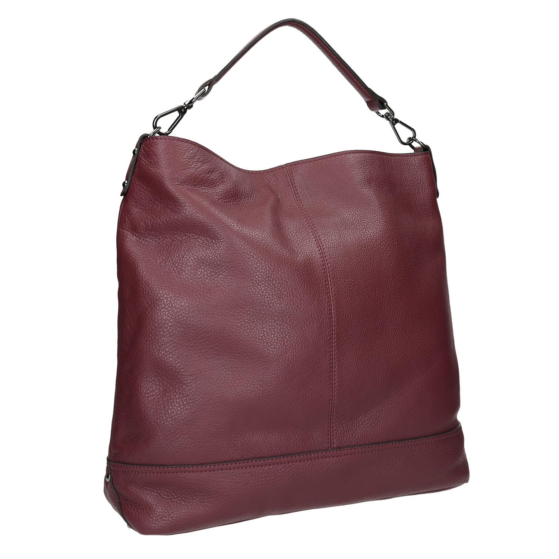 Kožená kabelka v Hobo štýle