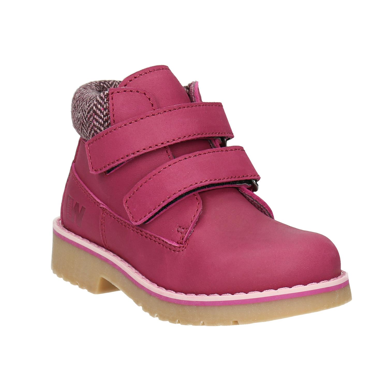 Růžová dětská zimní obuv
