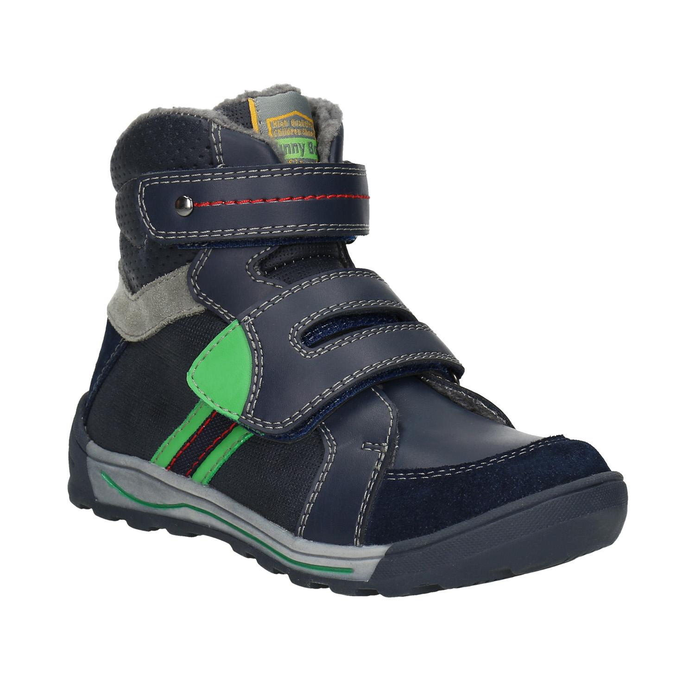 Kotníčková dětská zimní obuv