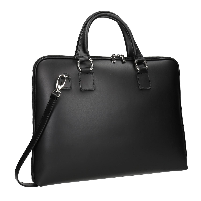 Kožená taška s odnímatelným popruhem