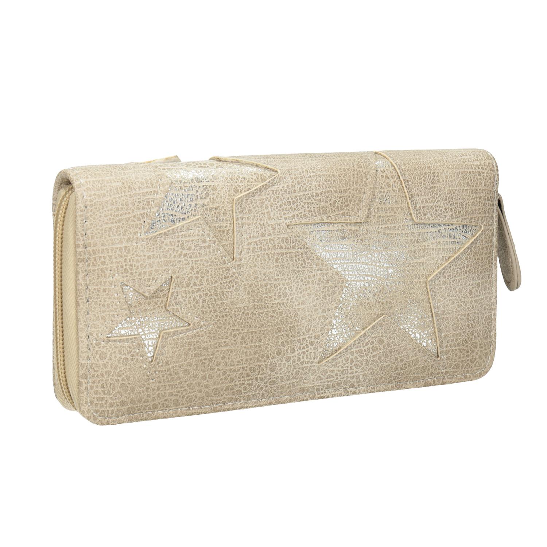 Dámská peněženka s hvězdami
