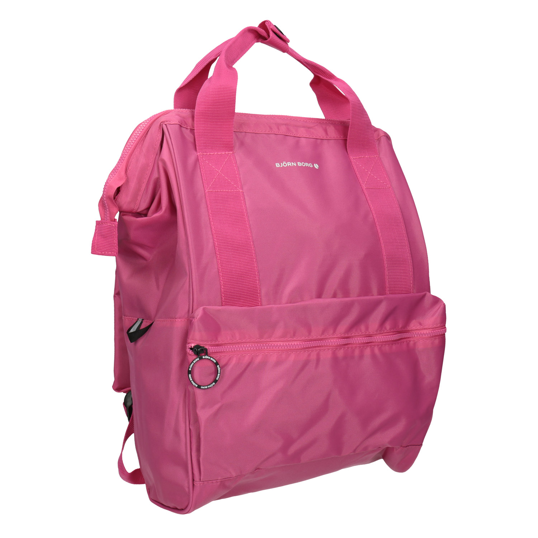 Růžový dámský batoh