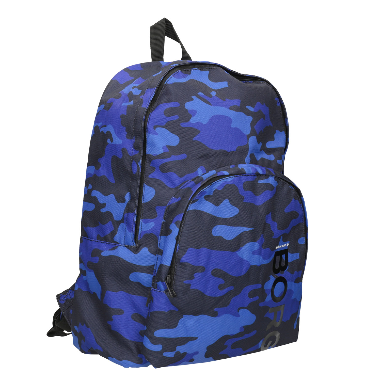 Maskáčový modrý batoh