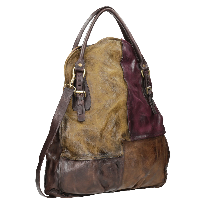 Skórzana torebka damska - 9660061