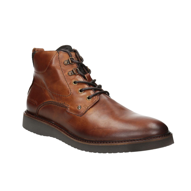 Buty ze skóry za kostkę - 8963675