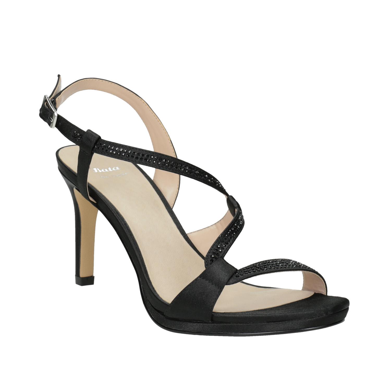 4bdcdc3c0e8e Dámske spoločenské sandále s kamienkami