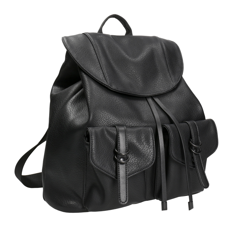 Czarny plecak damski - 9616833