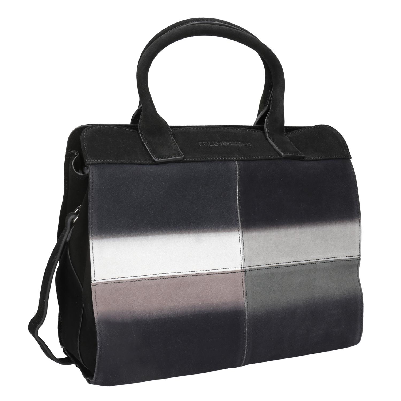 Kožená kabelka s Ombré efektem