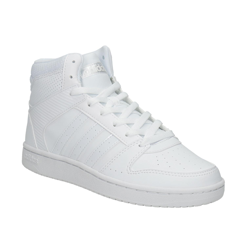 Bílé kotníčkové tenisky