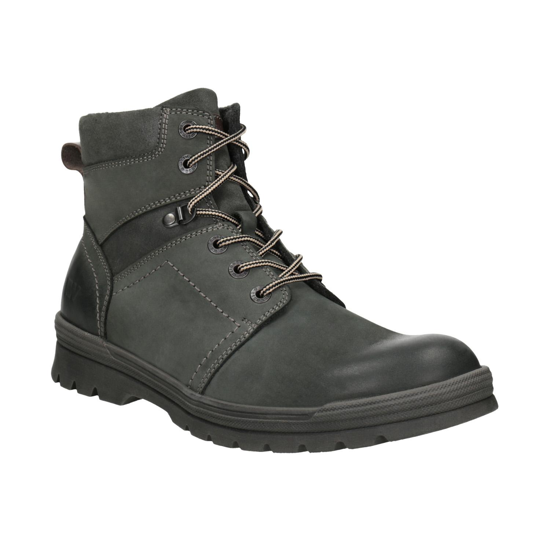 Skórzane buty za kostkę - 8962703
