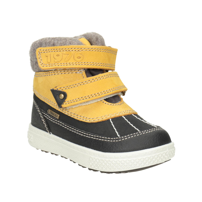 Dětská zimní obuv kožená