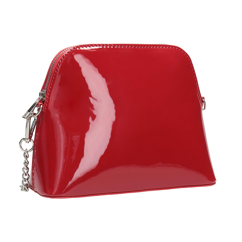 Czerwona lakierowana torebka - 9615850