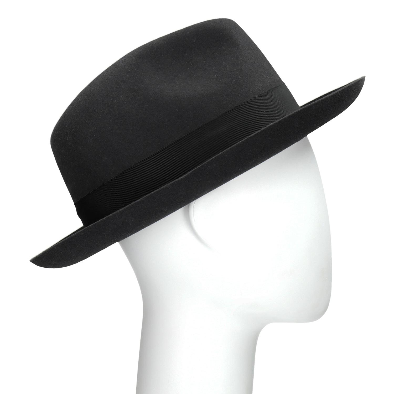 Černý pánský klobouk
