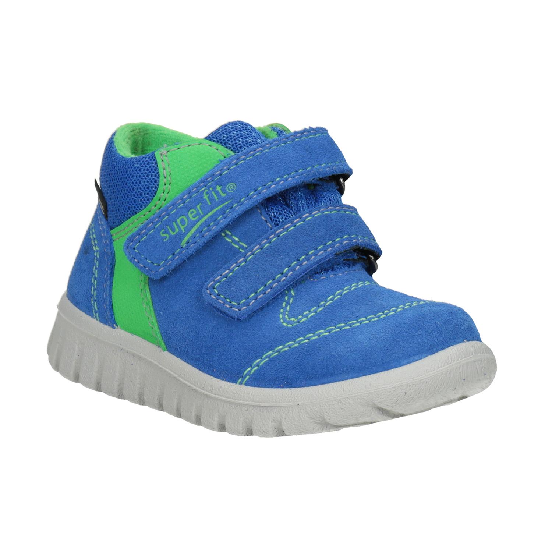 Kožená dětská obuv na suché zipy