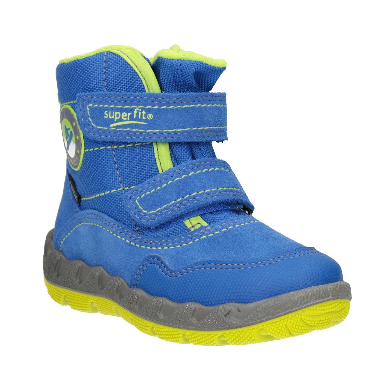 Dětská zimní obuv s výraznou podešví
