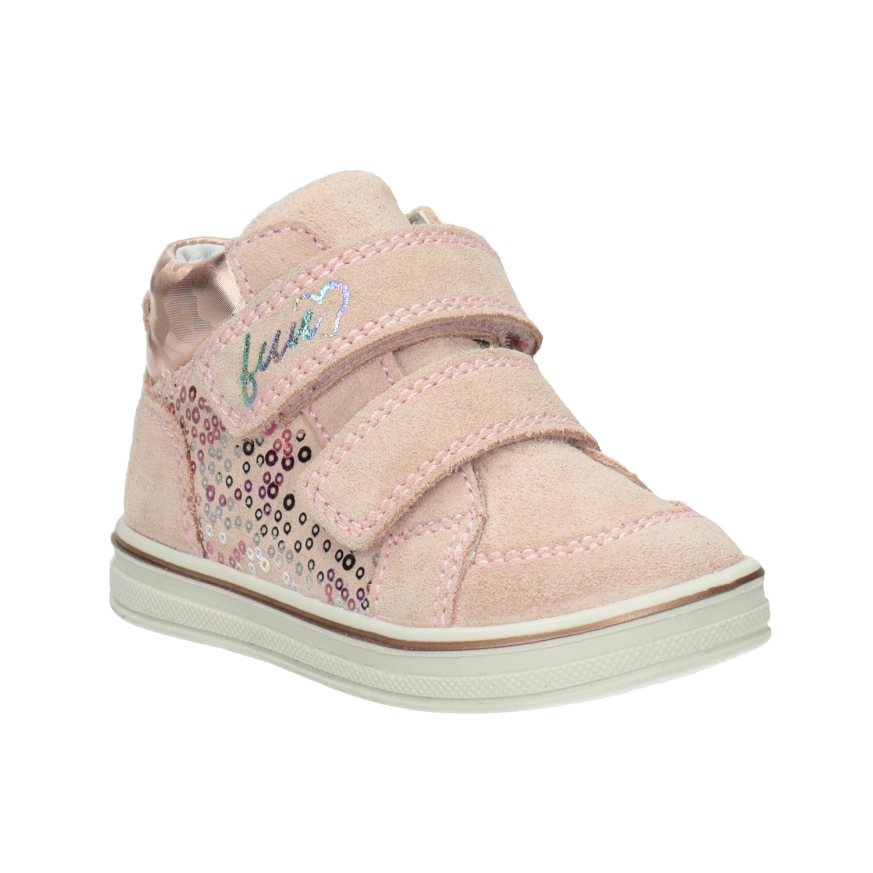 Detská dievčenská členková kožená obuv 277133562ef