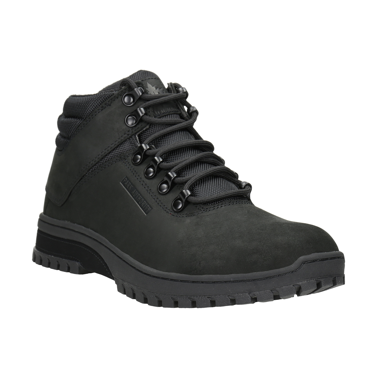 Czarne buty męskie za kostkę - 8066495