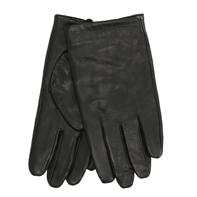 Kožené černé rukavice
