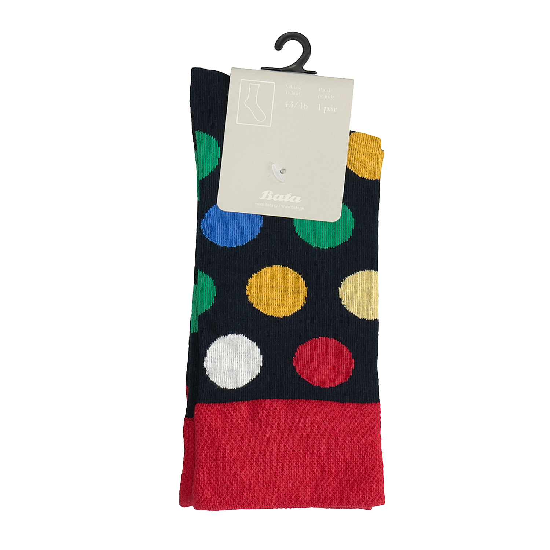 Pánské ponožky s puntíky