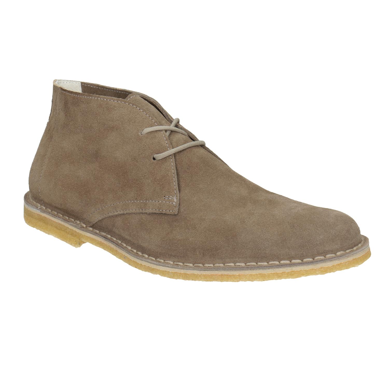 Skórzane buty pustynne męskie - 8238622
