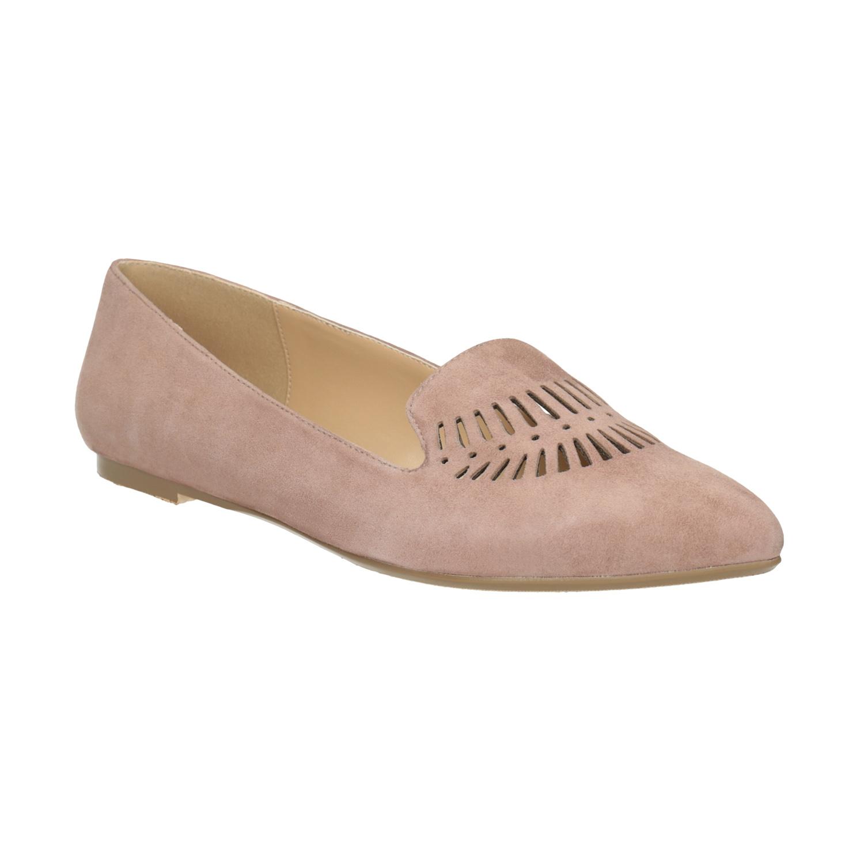 Dámská kožená Loafers obuv
