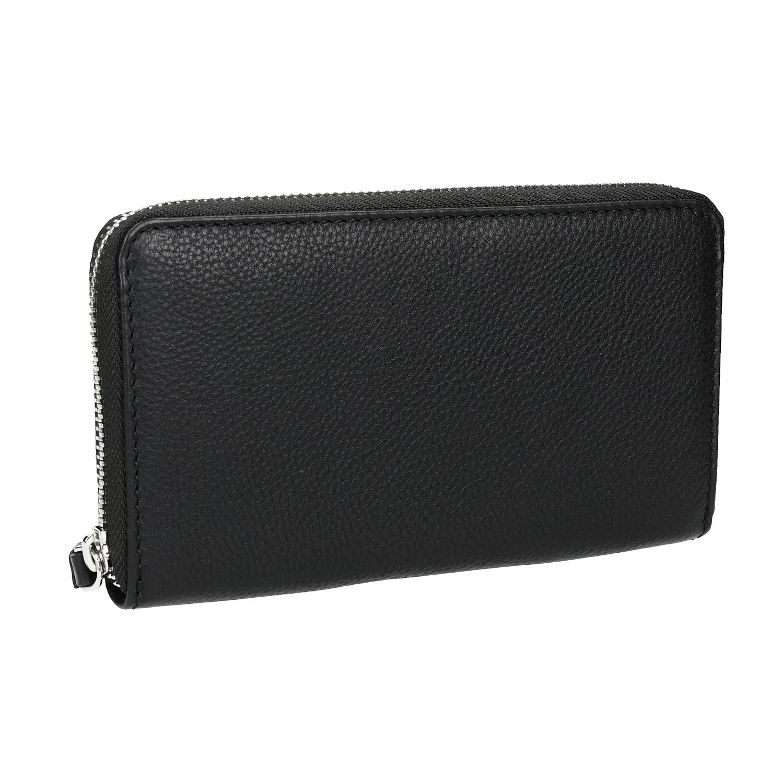 Kožená dámská peněženka černá