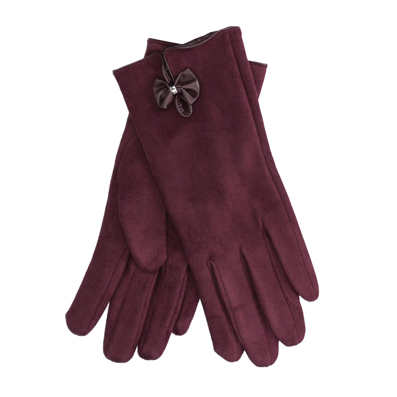 Dámské rukavice s mašličkou