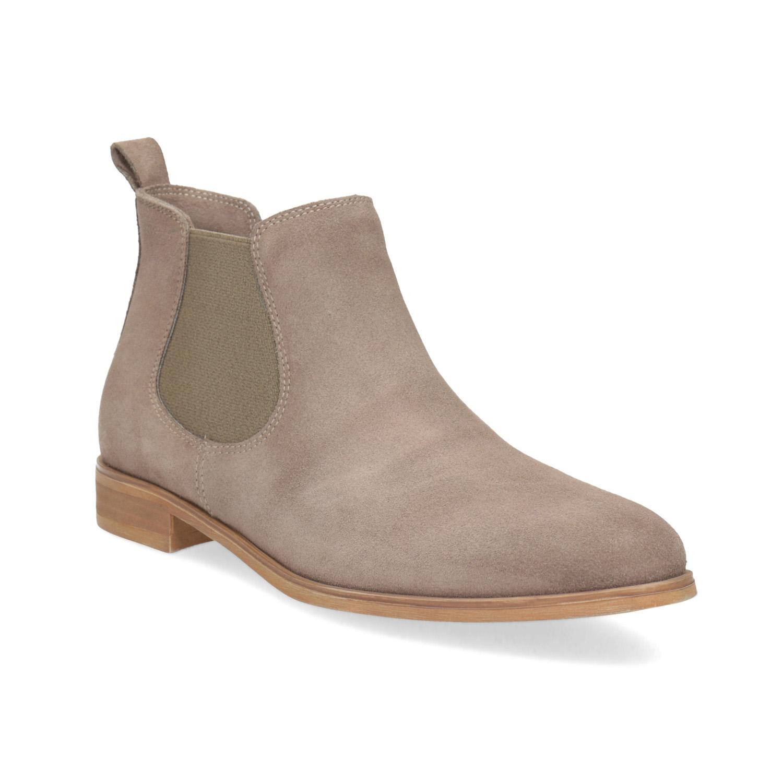 Kožená dámská Chelsea obuv