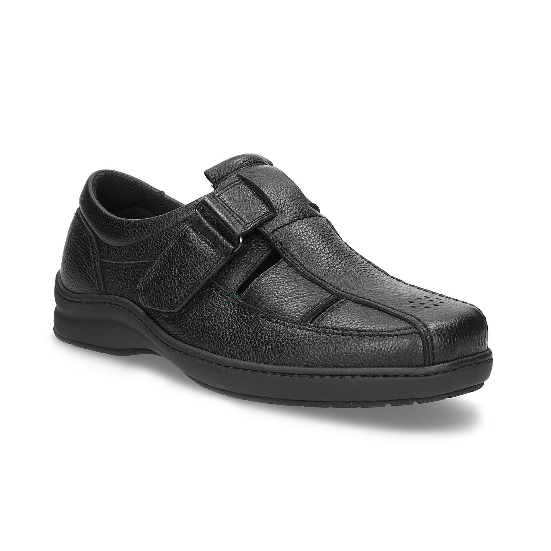 Skórzane sandały męskie - 8646626