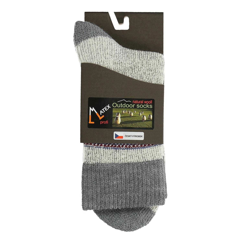 Pánské ponožky z přírodní vlny