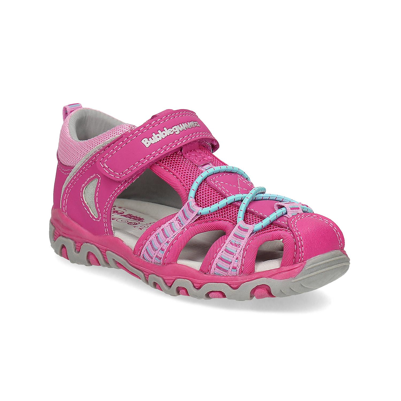 Růžové dětské sandály