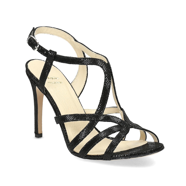 Wyjściowe sandały damskie - 7266648
