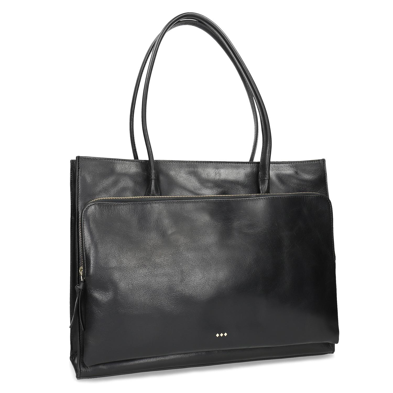 Kožená kabelka dámská