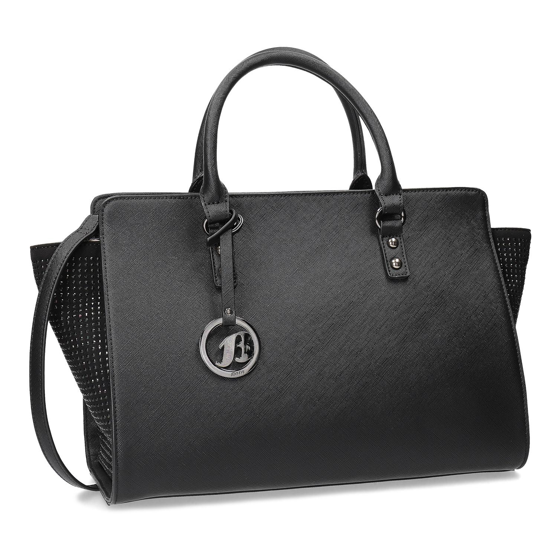 Černá kabelka s kamínky
