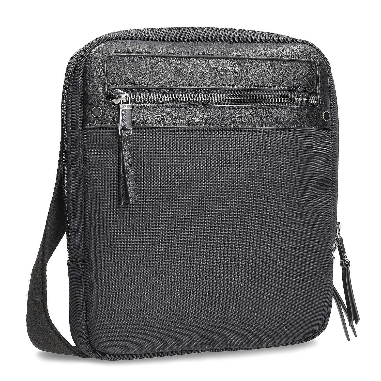 Pánska čierna taška crossbody