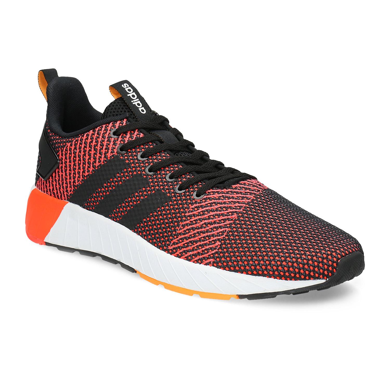 Oranžovo-černé pánské tenisky
