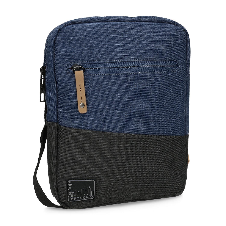 Granatowa torba męska typu crossbody - 9699700