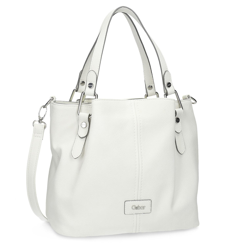 Menší bílá dámská kabelka
