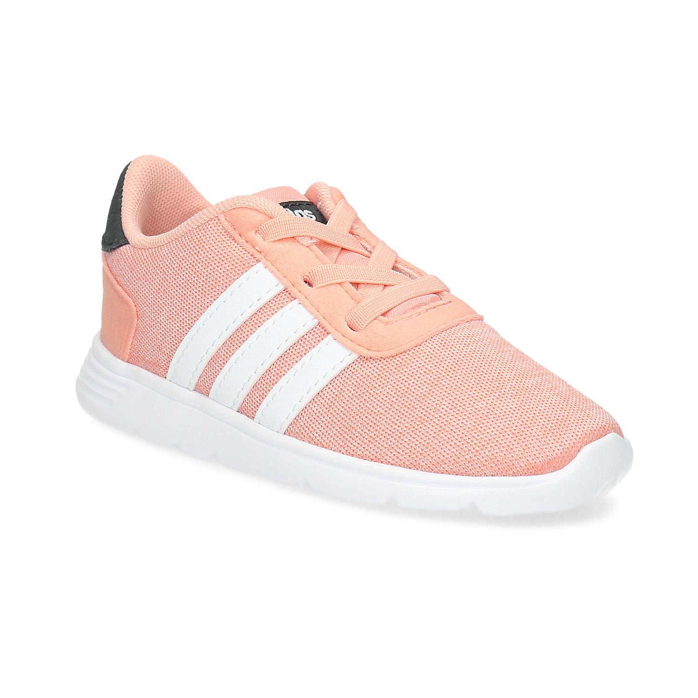 Dívčí světle růžové tenisky