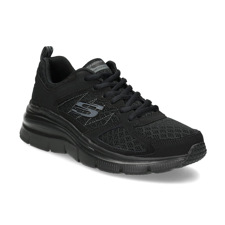 Černé sportovní Skechers tenisky