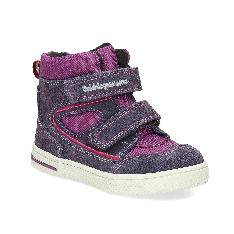 Kotníkové dětské boty s teplou podšívkou