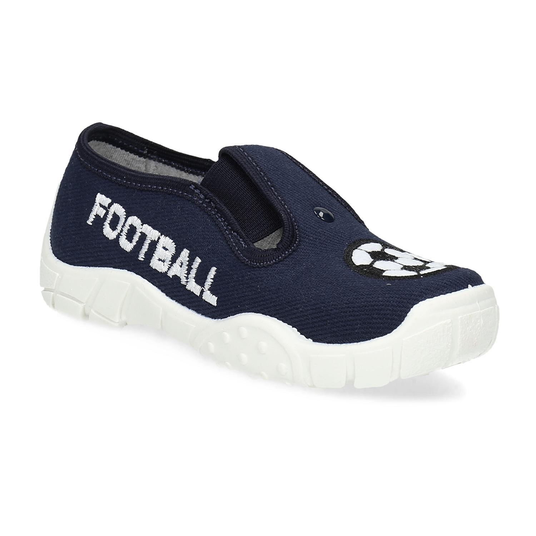 Tmavě modrá dětská Slip-on obuv