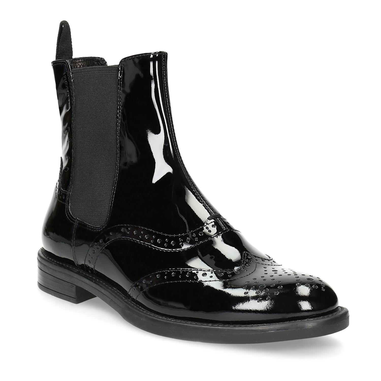 dd46ed0d6c1e Lakovaná kožená dámska Chelsea obuv