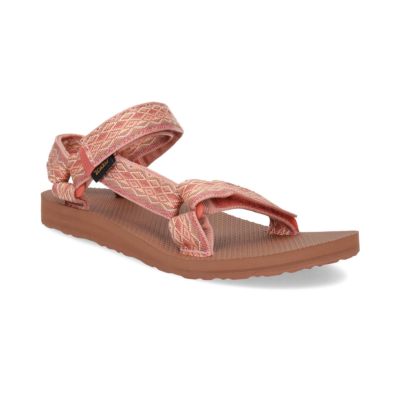 Růžové sandály v Outdoor stylu